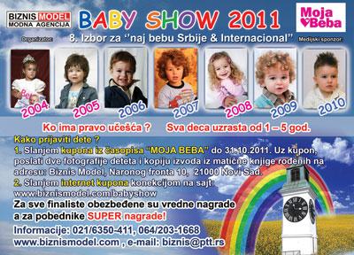 Baby Show 2011 Novi Sad