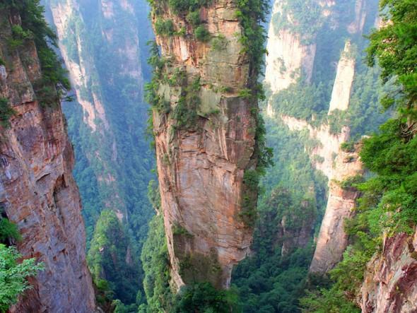 Tianzi Mountains – China