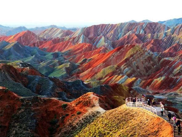 Zhangye Danxia Landform – China