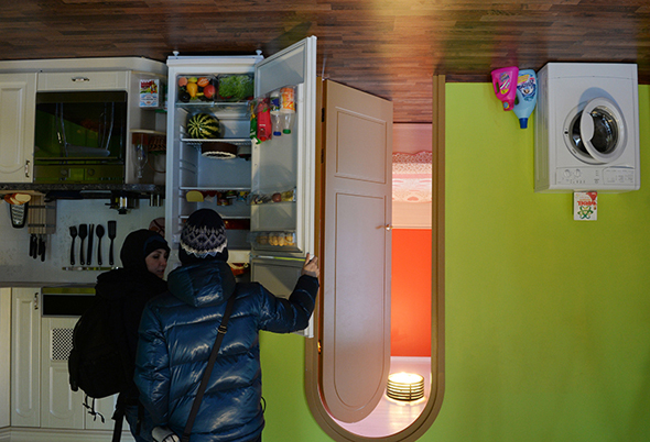 Upside Down House attraction opens at VVTs