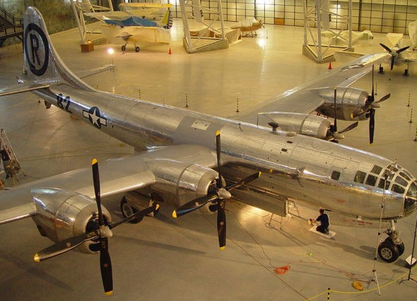 Enola Gay Boeing B-29 Superfortress bomber1