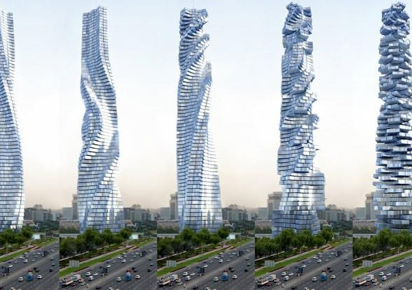 Rotating Tower, Dubai, UAE1