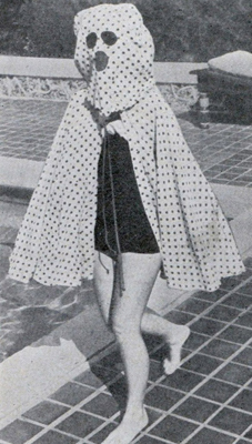 This garment was used prior to the invention of sunscreen