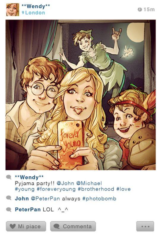 If-Disney-Characters-Took-Selfies3__6052