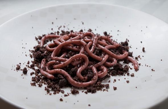 Halloween špageti