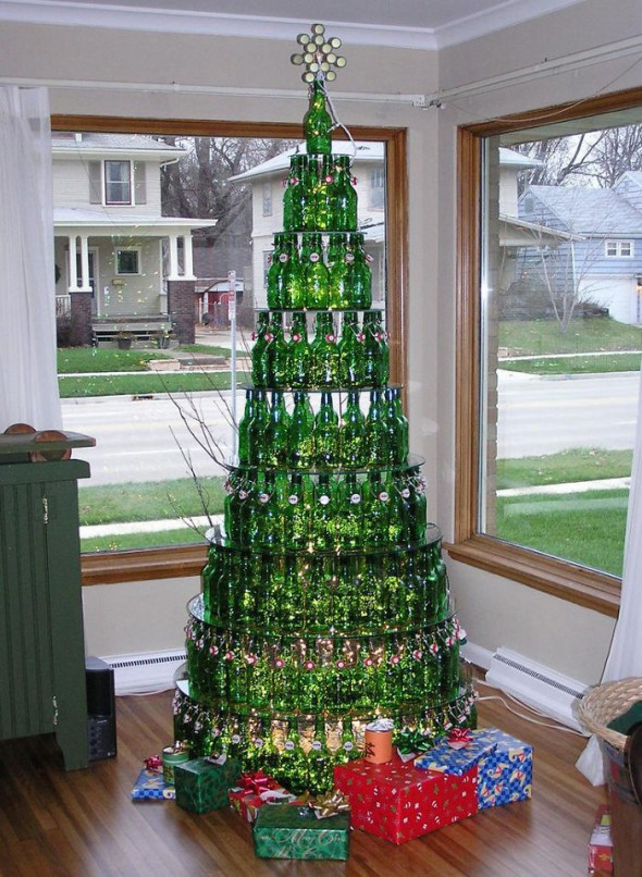 #17 Last Year's Beer = This Year's Christmas Tree