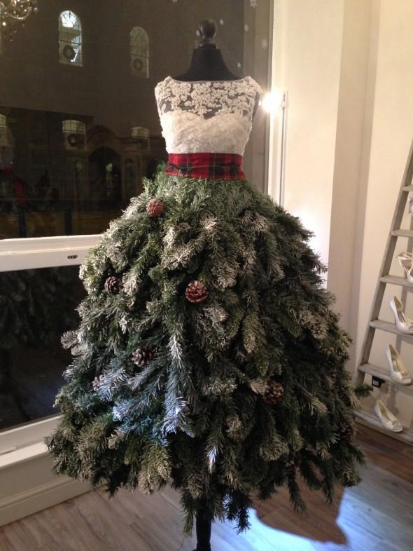 #2 Christmas Tree Dress