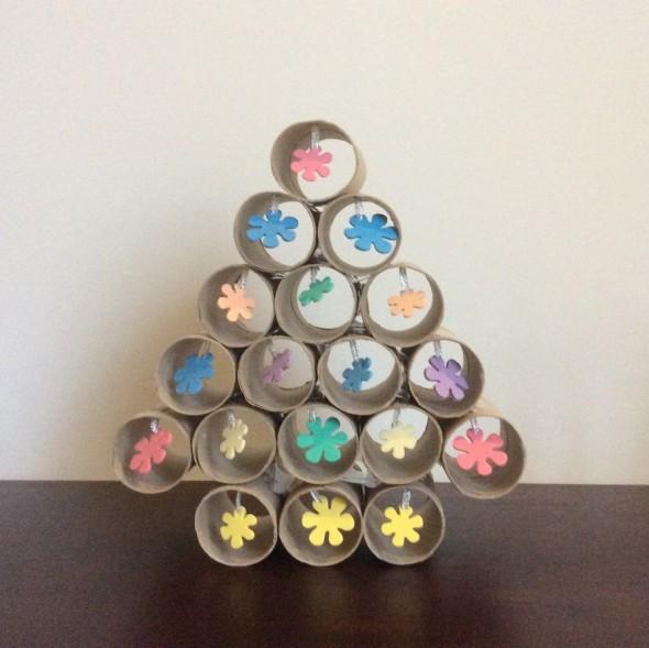 #62 Tissue Roll Christmas Tree