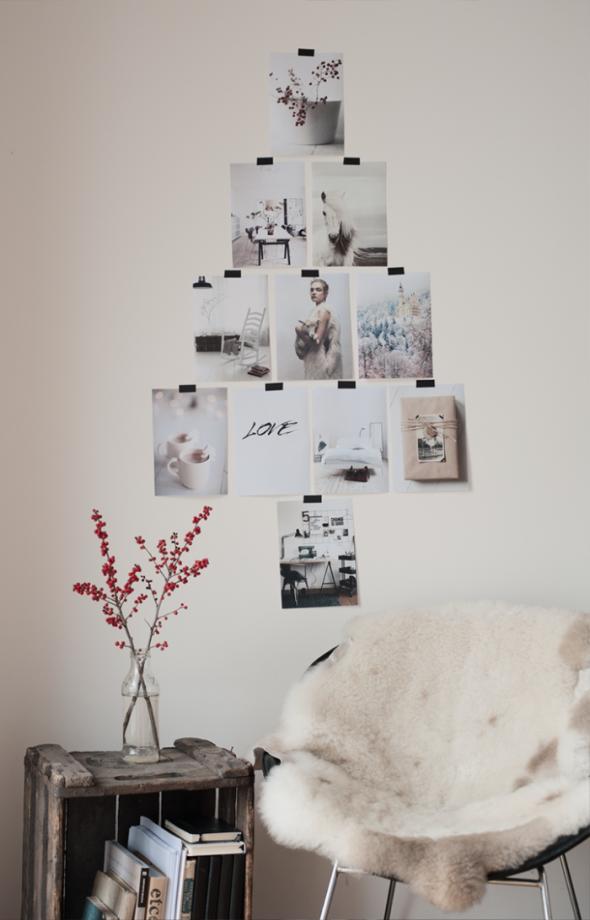 #72 Simple & Cosy Photo Christmas Tree