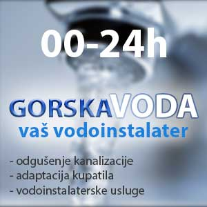 Vodoinstalater Gorska Voda Beograd