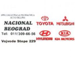 Delovi za japanska i korejska vozila Nacional