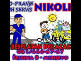 Tepih servis i autoperionica Nikolić