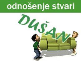Čišćenje i odnošenje nepotrebnih stvari Dušan